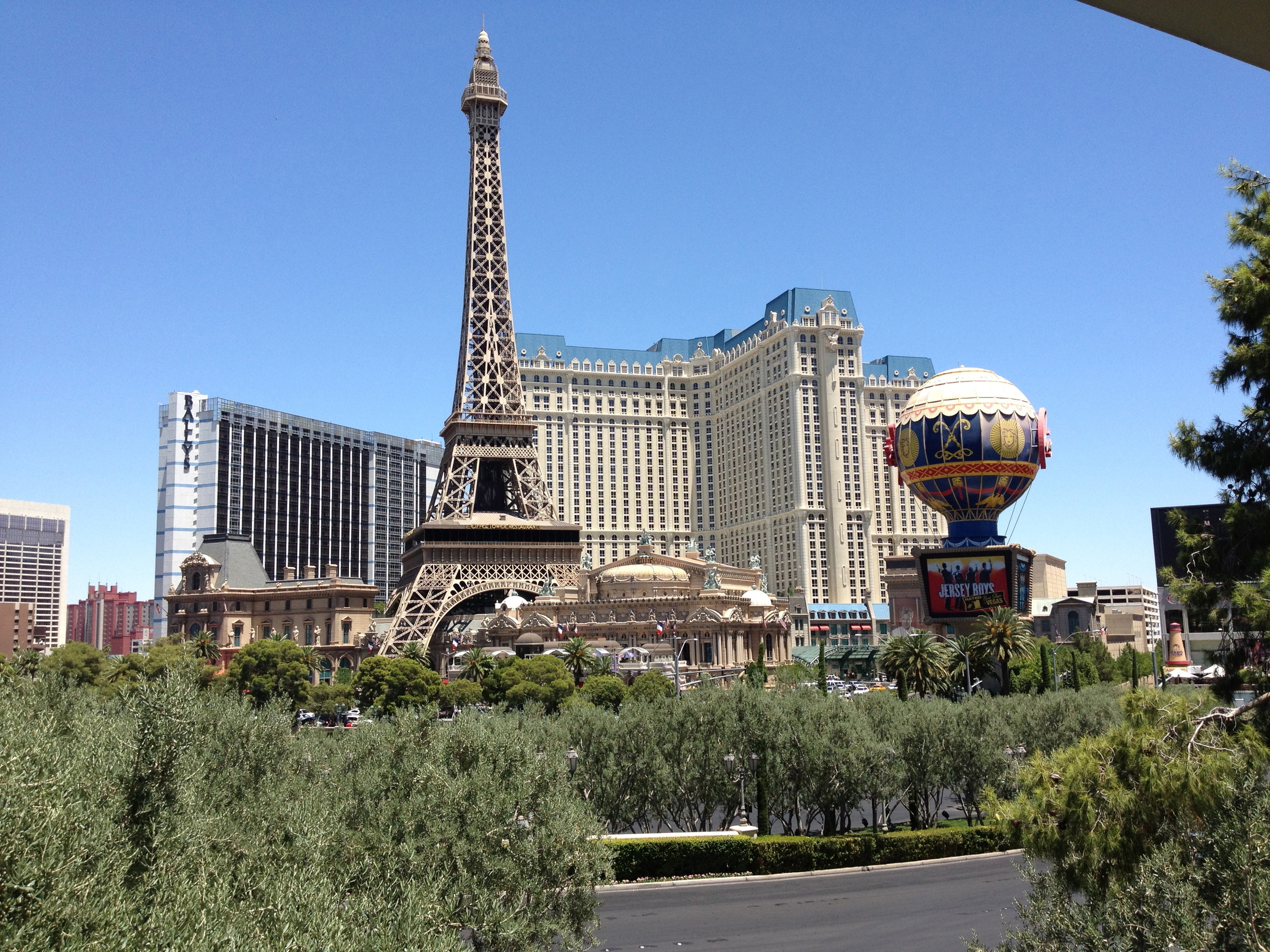You don't actually need to see the rest of the world; it's all here in Vegas