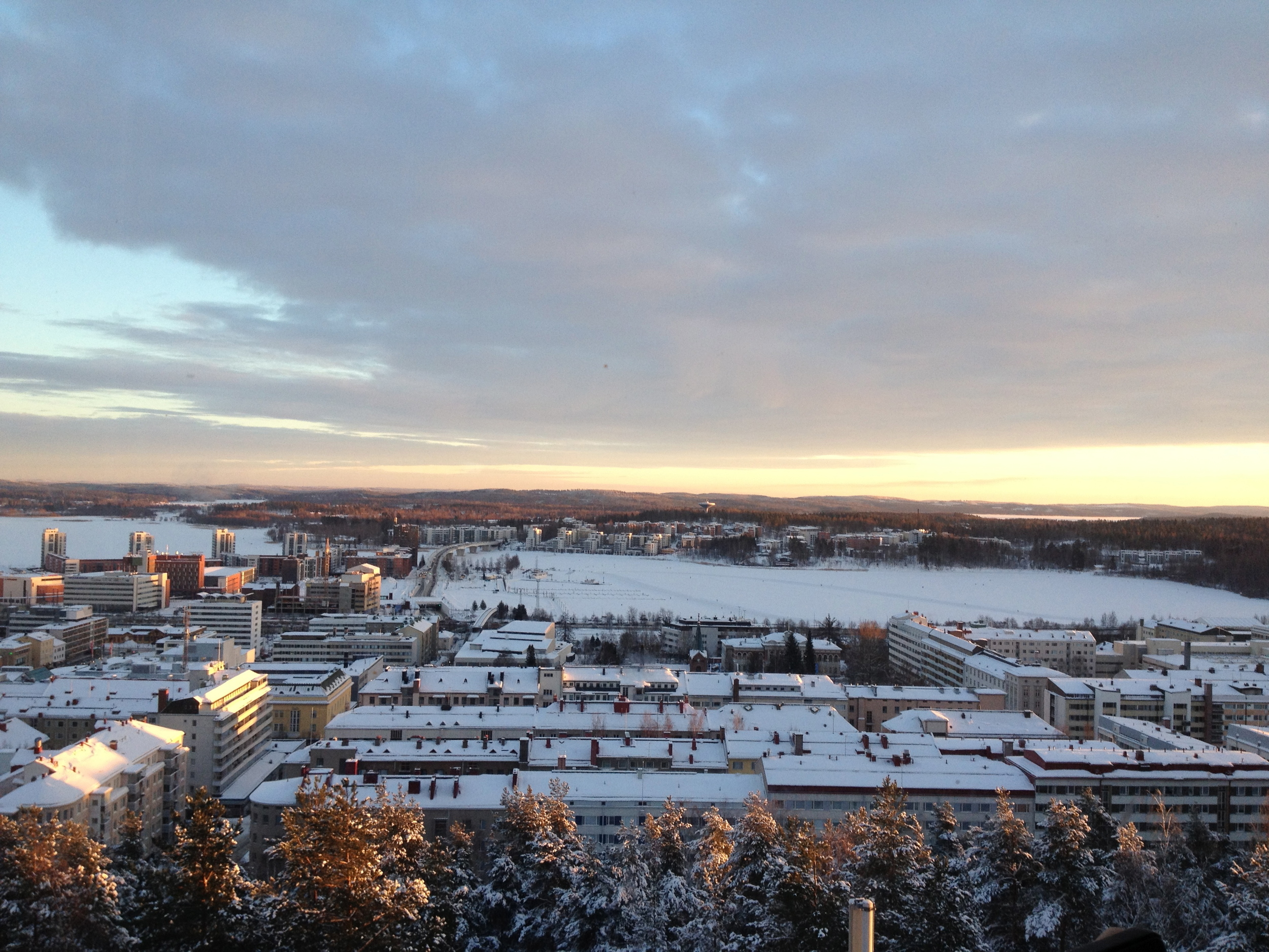 JYVÄSKYLÄ IN THE WINTER