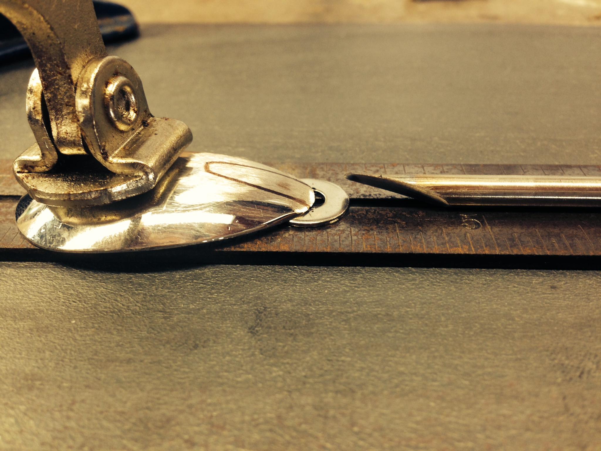 standard spoon prototype silver solder 1