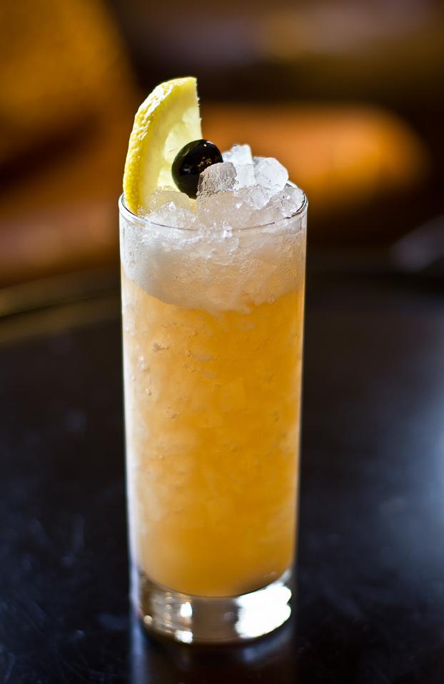 Tall Tale (rye, lemon, apricot liqueur, orgeat)