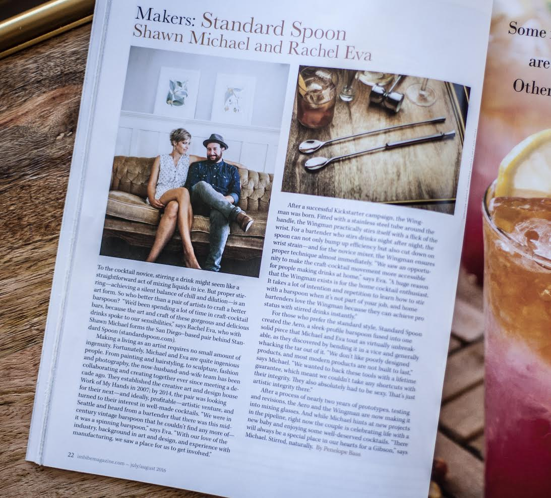 Imbibe Magazine Article Standard Spoon Cocktail Tools