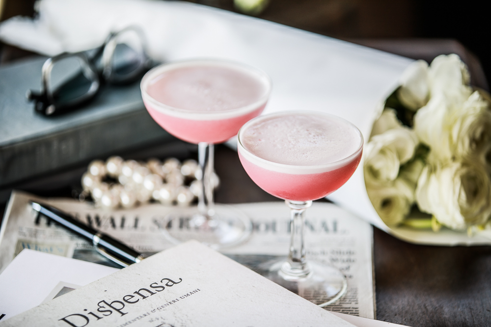 Clover Club Cocktail by Standard Spoon