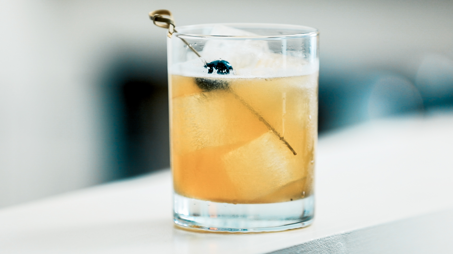 Classic Whiskey Sour Cocktail by Standard Spoon
