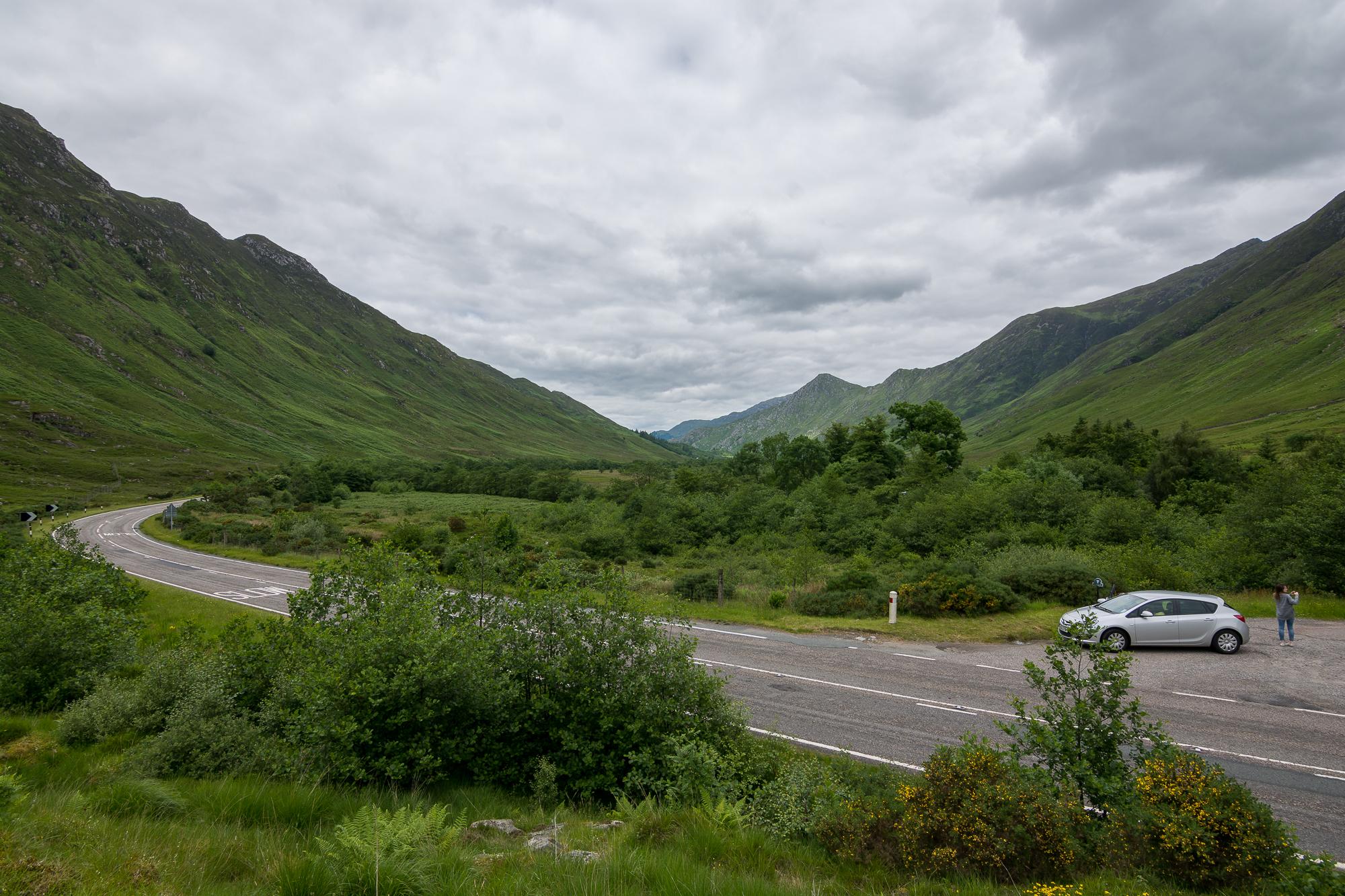 Road to Skye - Scotland, 2014