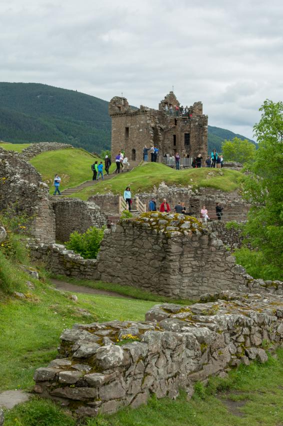Urquhart Castle, Loch Ness - Scotland, 2014