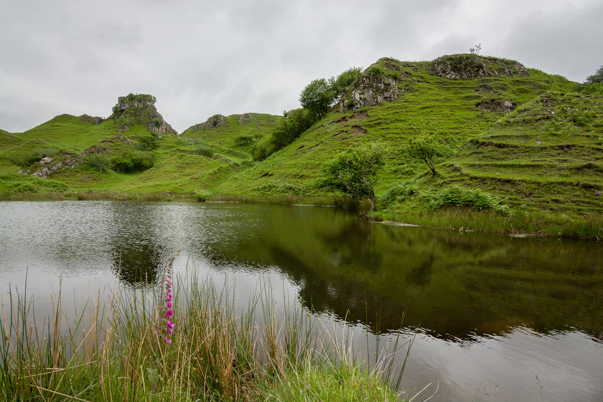 Fairy Glen, Isle of Skye - Scotland, 2014