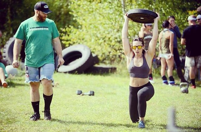 The Vermonster team CrossFit comp is coming up next weekend... wait, why am I doing this again (3rd year in a row)? #cantstopwontstop #gluttonforpunishment #somewhatfitjustdontquit