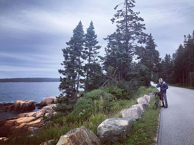 Just got home from a trip to Maine for some biking 🚴🏻♀️ hiking ⛰ lobster eating 🦞camping ⛺️ coffee drinking ☕️ and ocean vibes 🌊 with my main squeeze. 6 years married and 11 together, somehow feels like no time but also a lifetime, love you mucho @gabrieltempesta ❤️