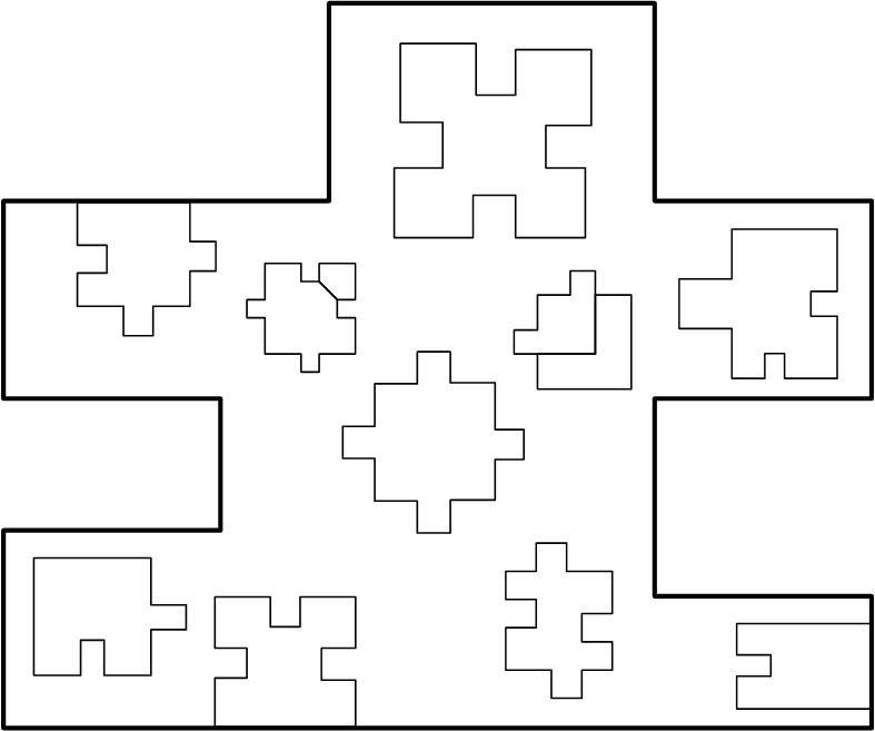 Basic shape placement.