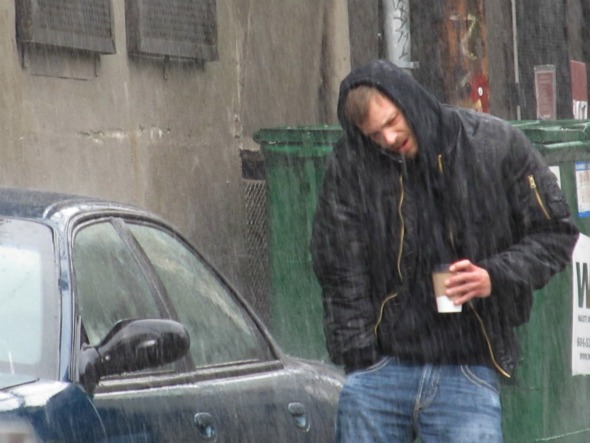 Watch  The Killing  for some egregious Seattle rain scenes.