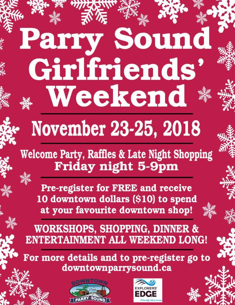 News week of 23 November 2018 — Parry Sound Books