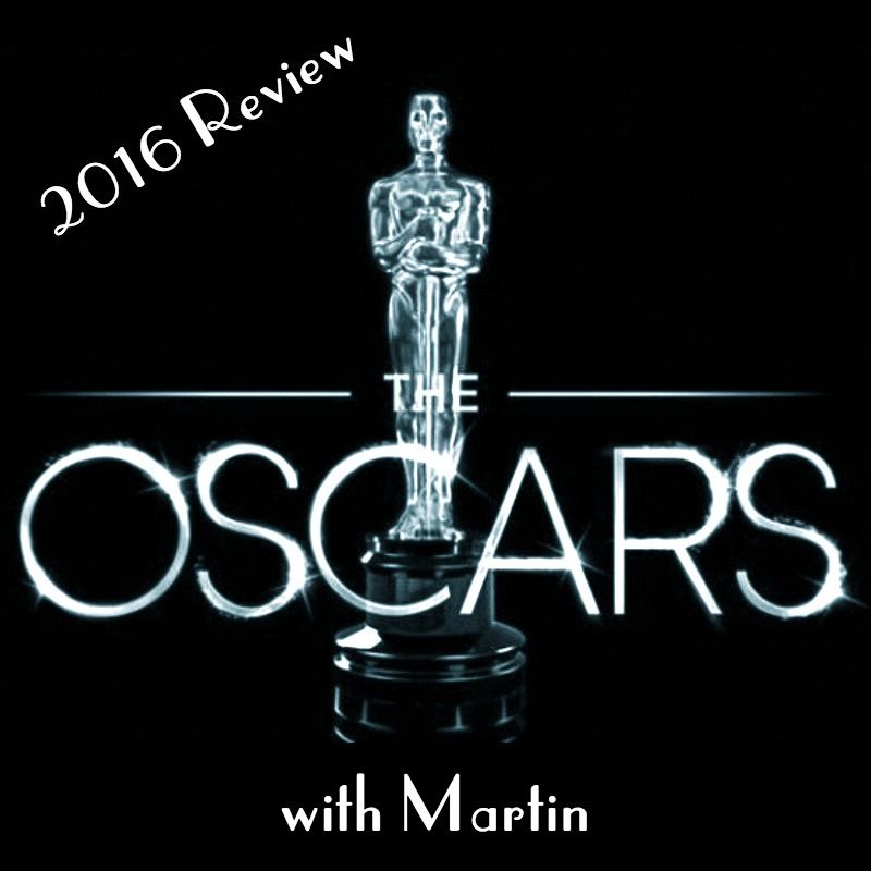 2016 Academy Awards Review - Martin rides solo this week as he recaps the 88th Academy Awards. He gives his thoughts on the controversy surrounding the lack of diversity, Chris Rock's performance as host, as well as all the winners and losers of the night.