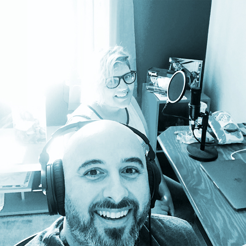 Our Favorite Podcasts - Martin and Justine wax poetic about some of their very favorite podcasts, such as My Favorite Murder and Fatman on Batman.