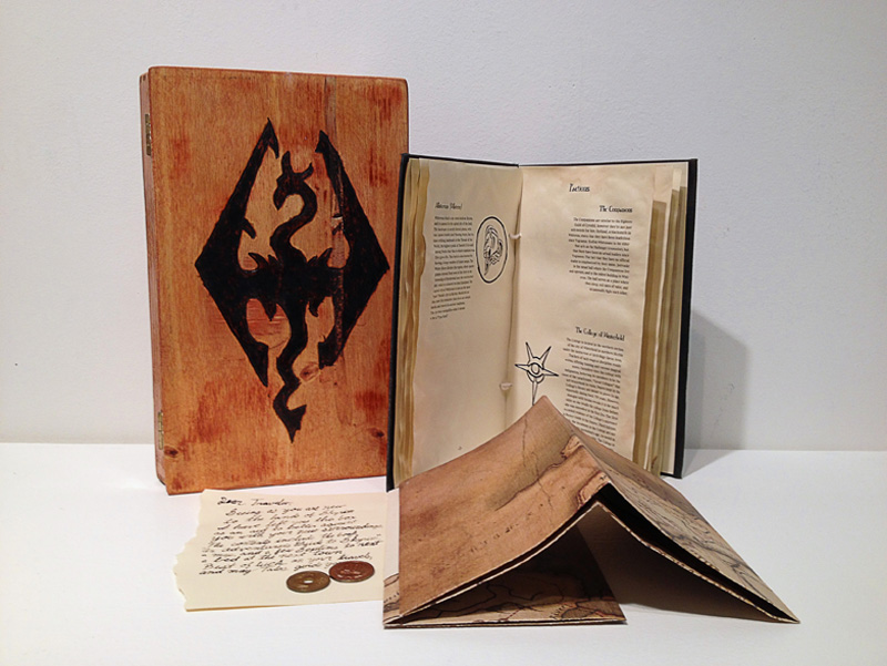 Skyrim Collector's Edition Packaging