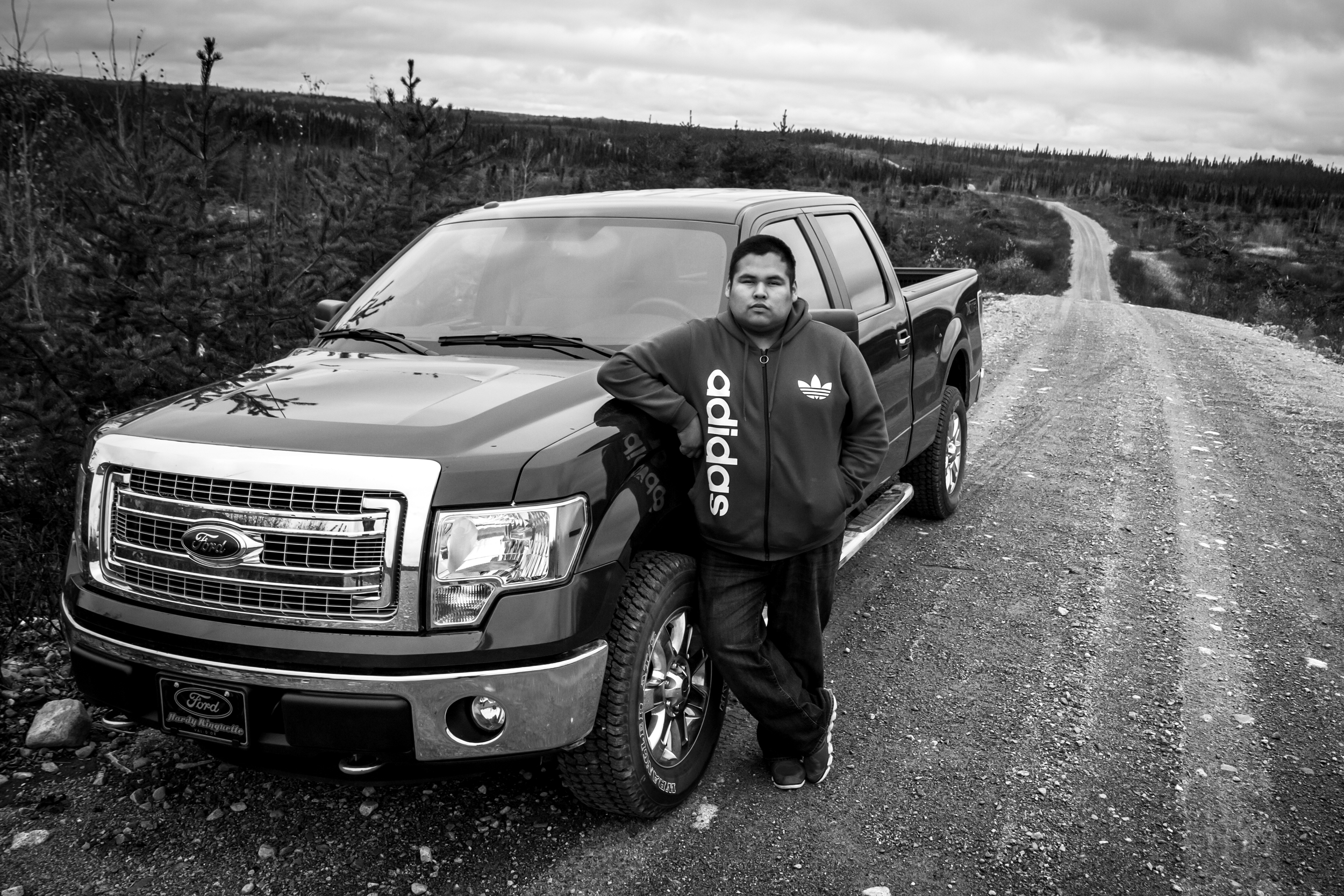 Freddy Dixon, le Youth Chief, et son Ford 150 tout neuf