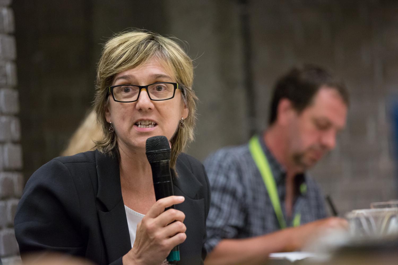 Carole Beaulieu, rédactrice en chef de l'Actualité.