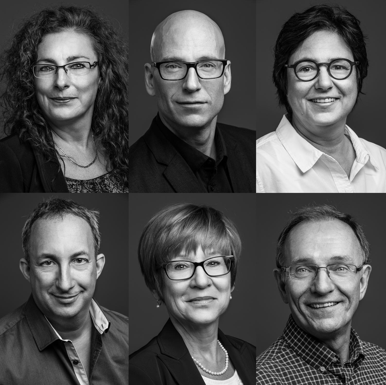 J'ai fait les portraits des employés de Sette Postproduction.