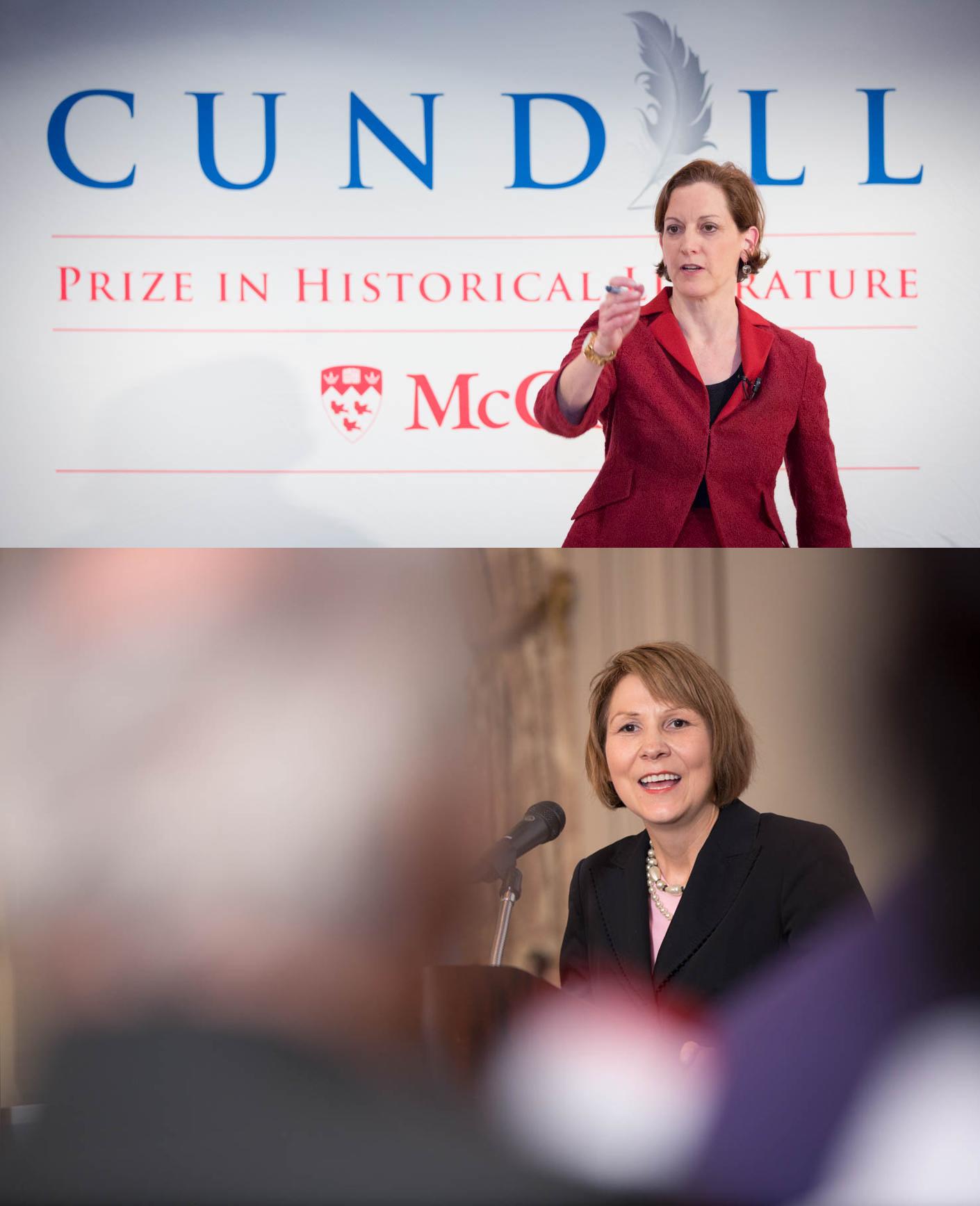 J'ai couvert des conférences pour McGill.