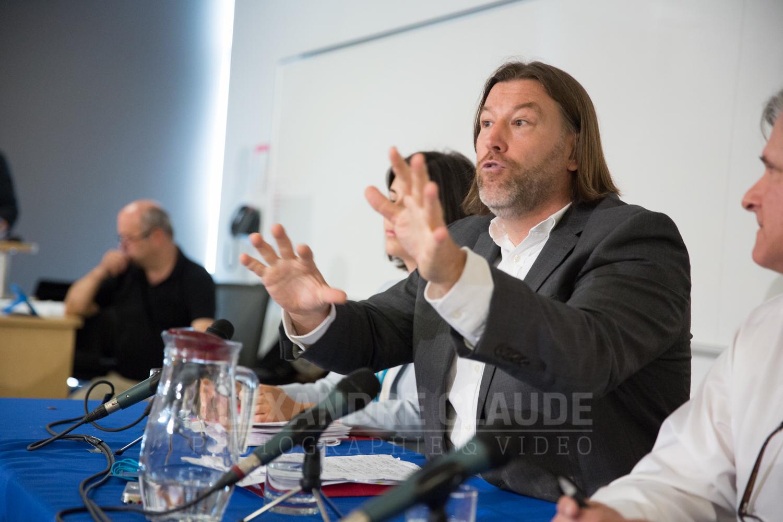 Hans Marotte, candidat du Nouveau Parti démocratique du Canada.