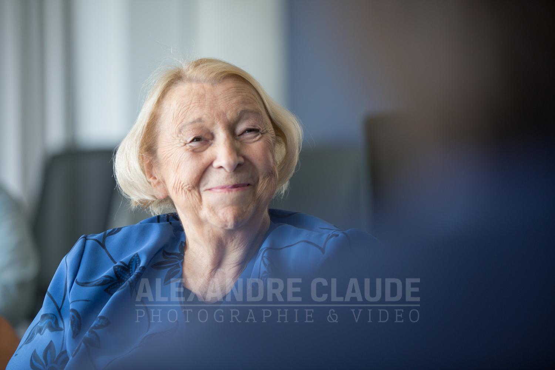 Dîner-conférence avec Lise Payette et Émilie Guimond-Bélanger.