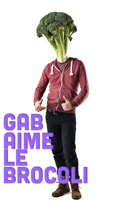 Gab aime le brocoli