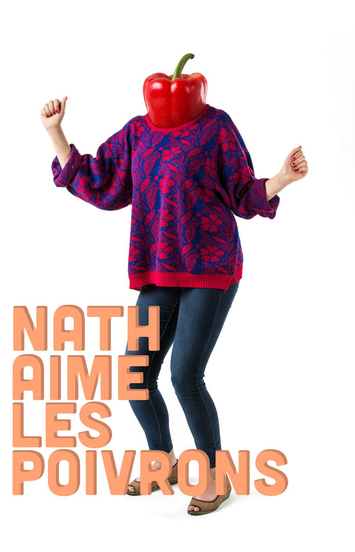 Nath aime les poivrons