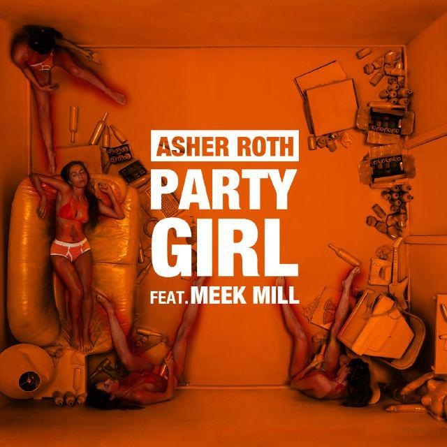 "Asher Roth ""Party Girl"" Cover Art"