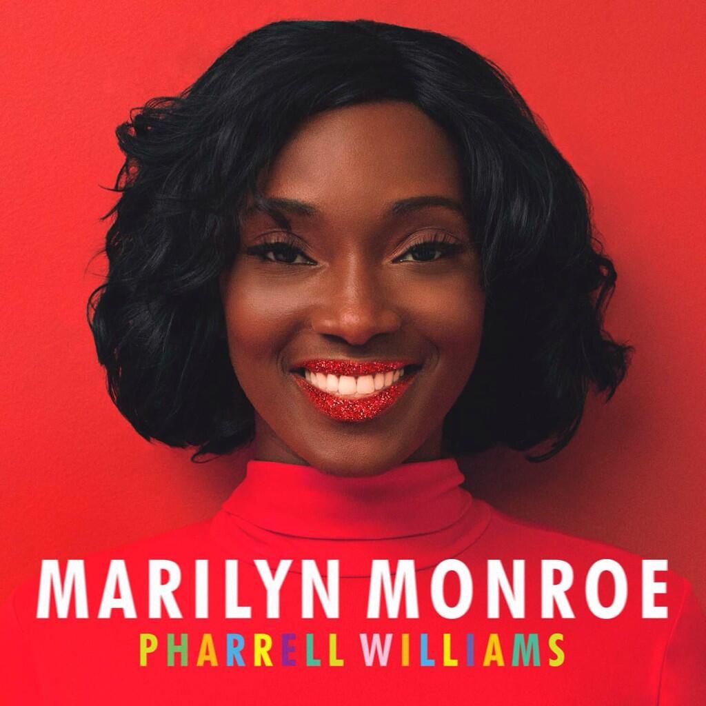 """Pharrell William """"Marilyn Monroe"""" Cover Art"""