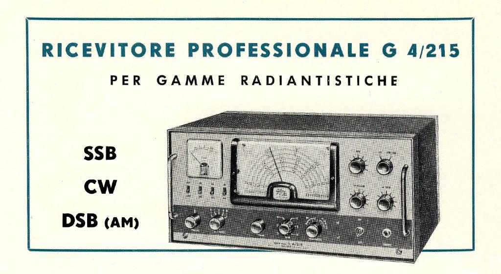 Geloso Radio Receiver