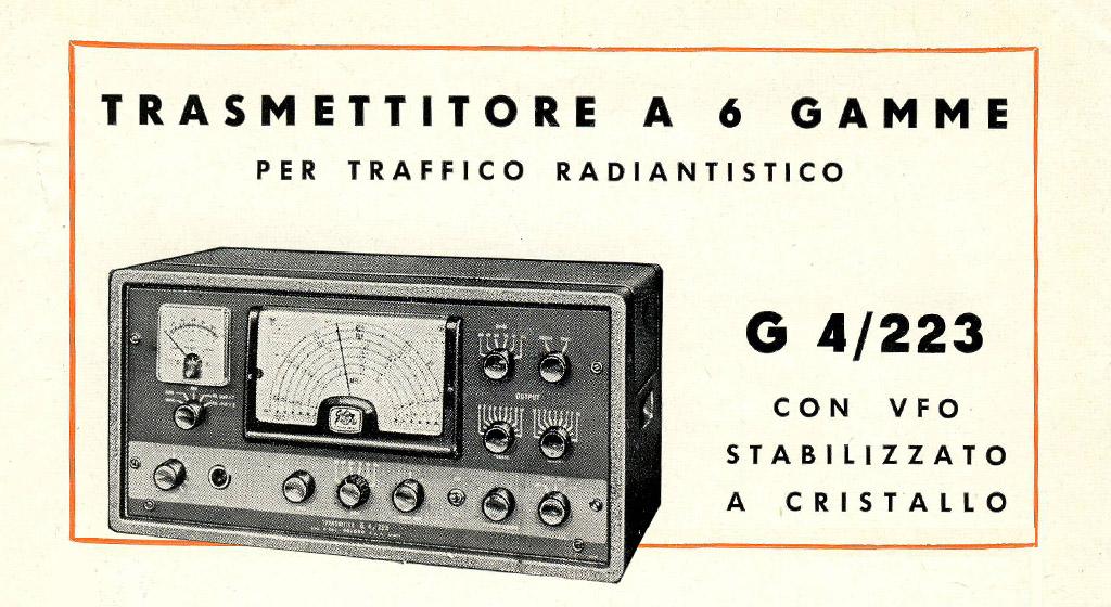 Geloso HF Transmitter