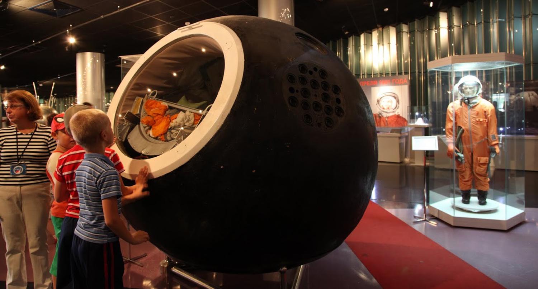 Vostok-1 and Spacesuit