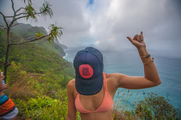 lucky we live hawaii - hanakapiai