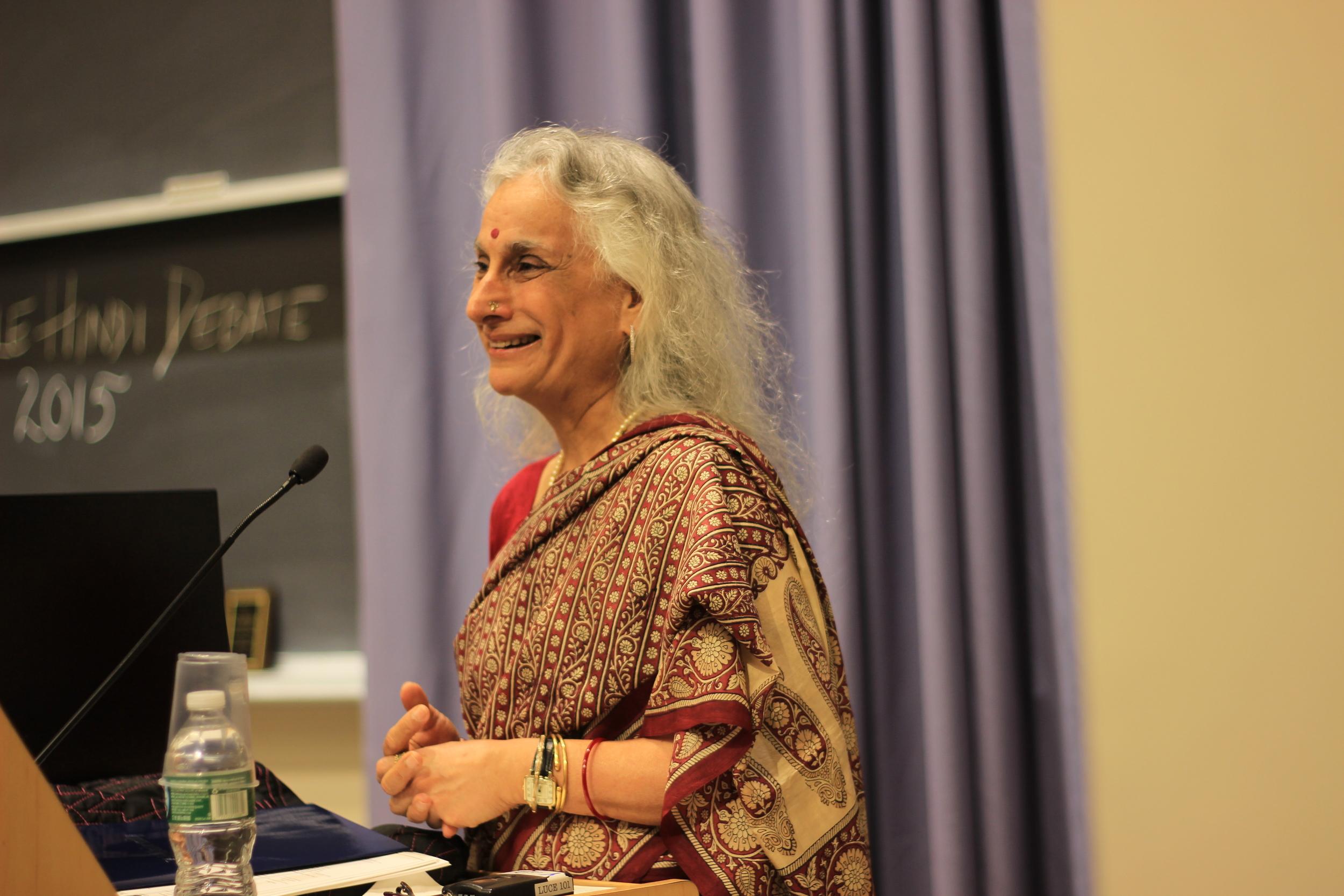 Professor Geetanjali Singh Chanda, Senior Lecturer, WGSS, Yale University; Member of YHD Judging Panel