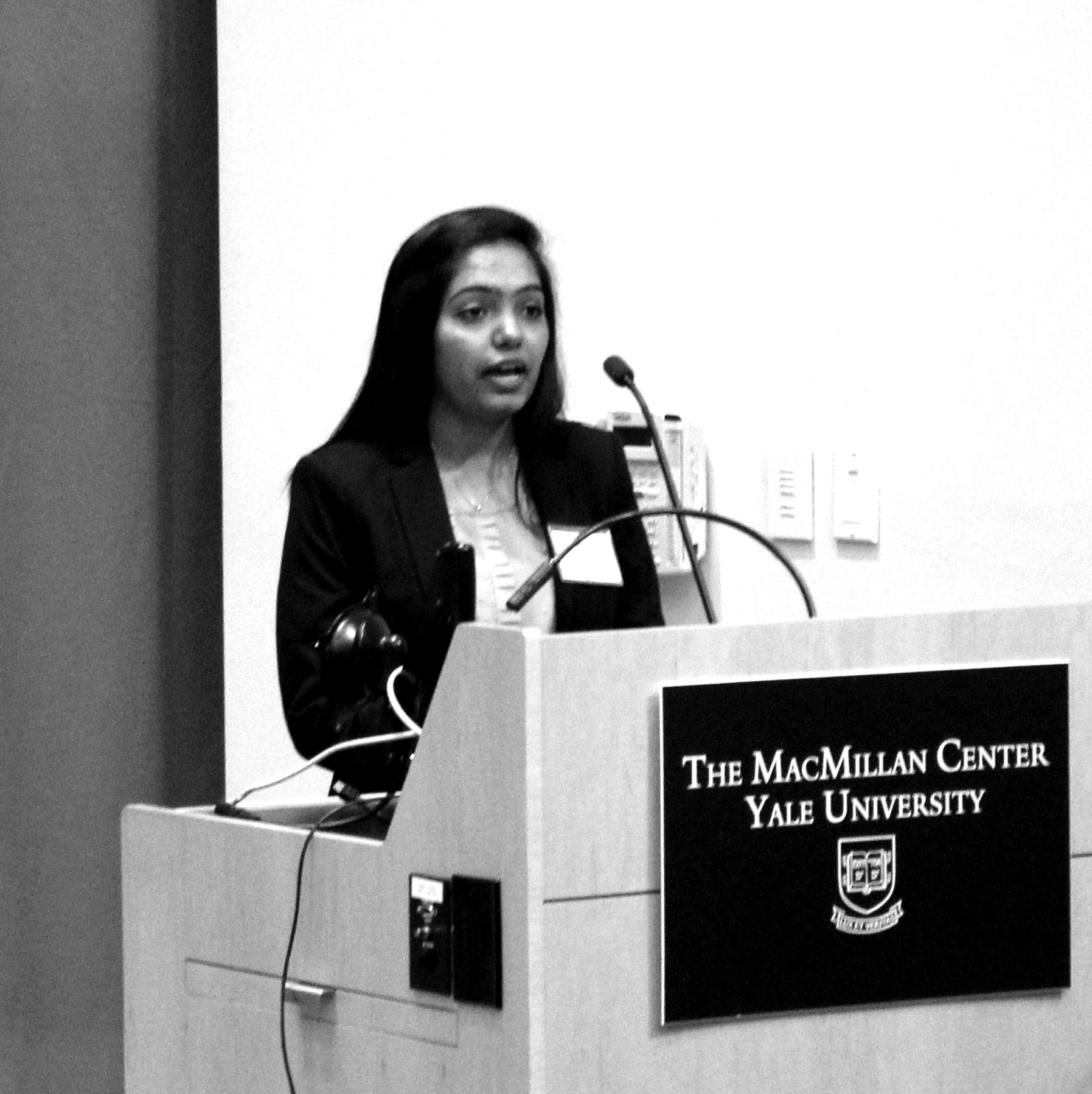 Shivani Patel, Rutgers