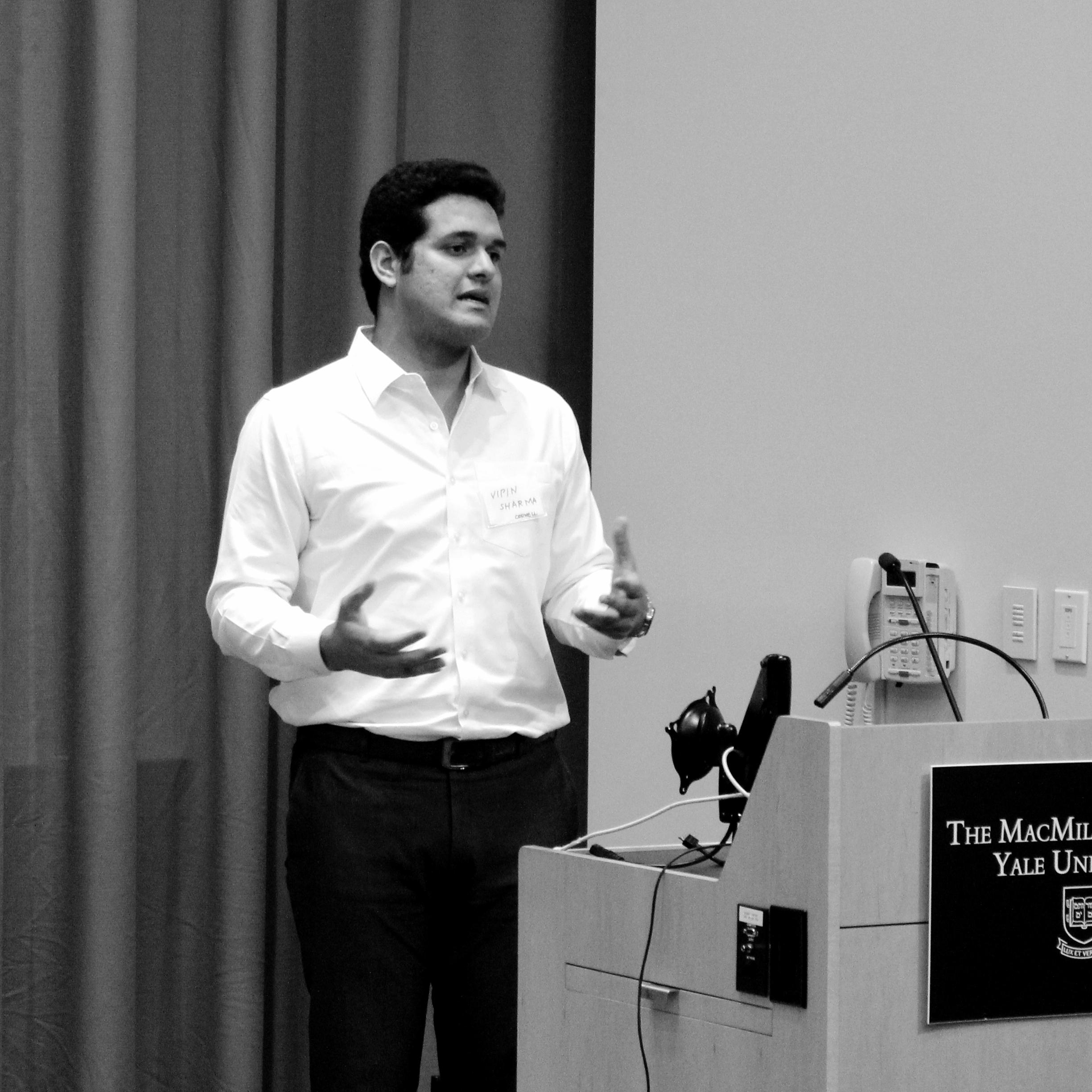 Vipin Sharma, Cornell
