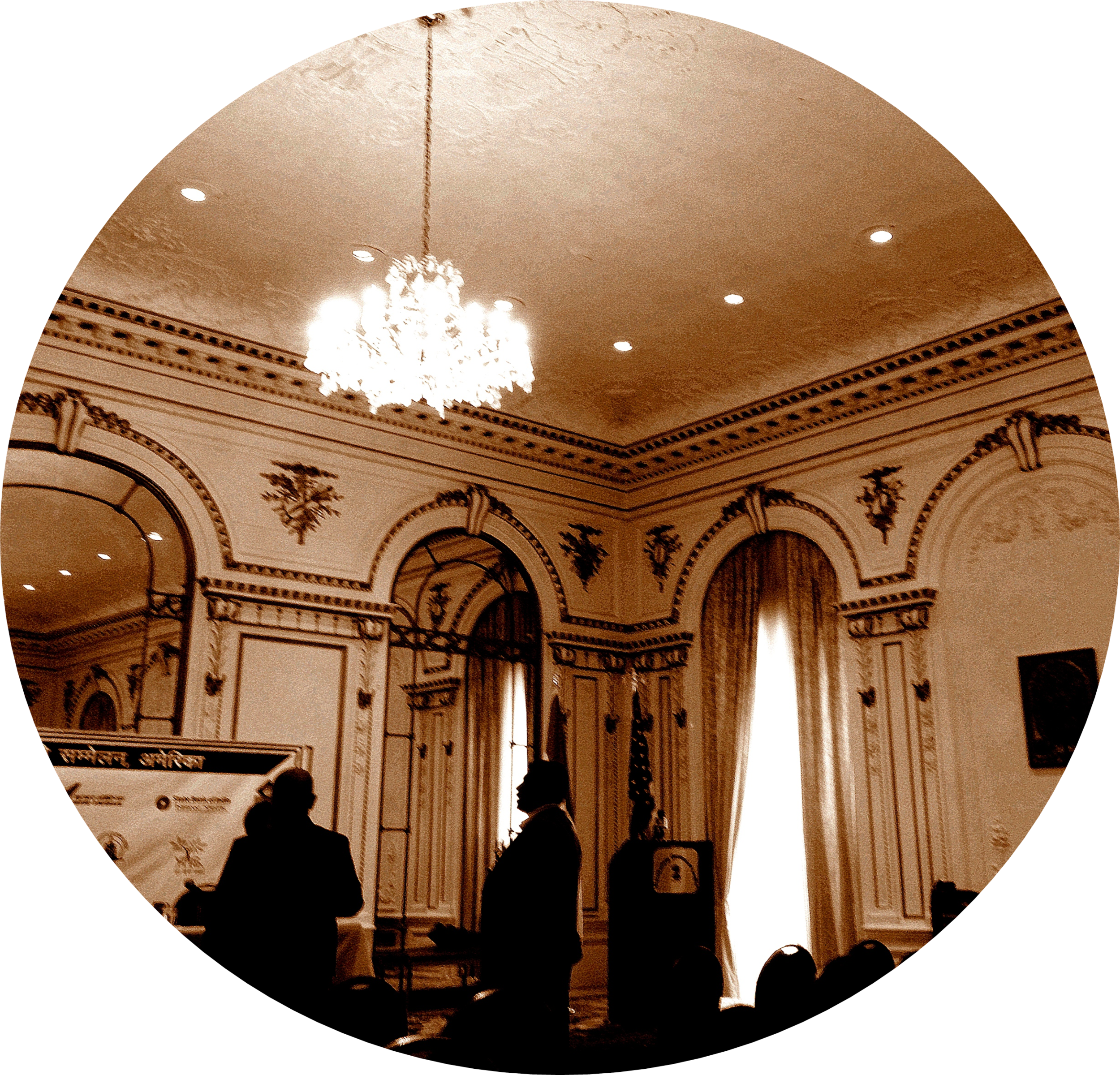Ballroom at the Consulate General -- Source: Akhil Sud, SM '16