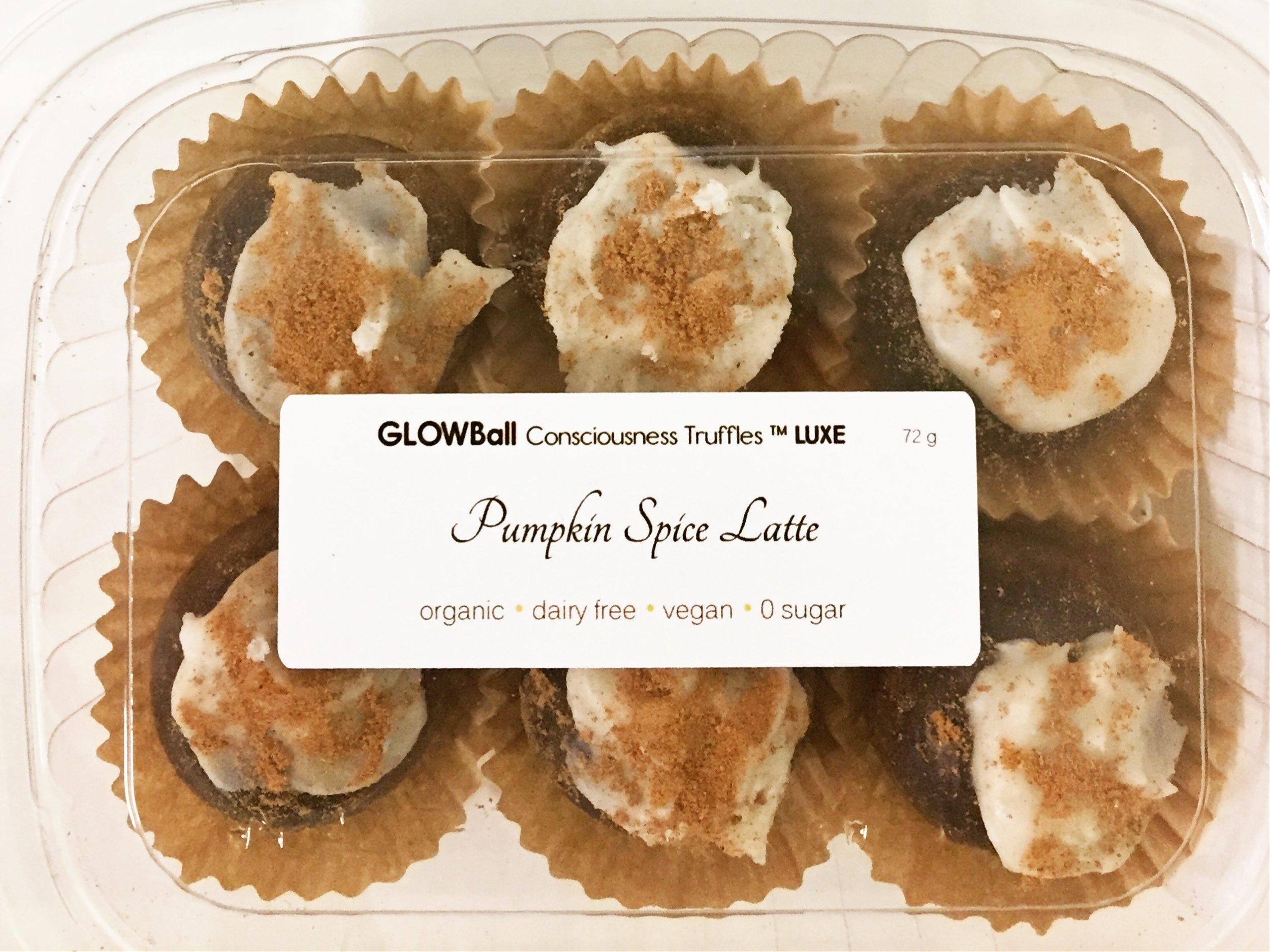 Glow Sugar Free Pumpkin Spice Truffles