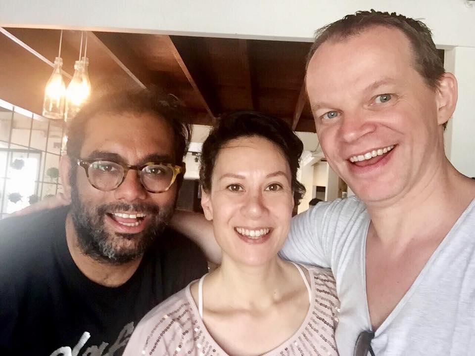 With Chefs Ekkebus & Gaggan in Bangkok