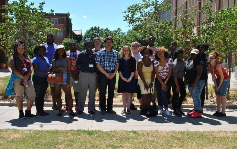 Figure 1: LUTA Class visiting the SPTC