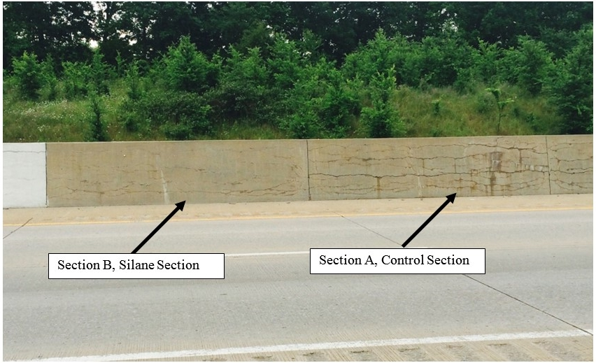 Figure 4: Barrier Wall Sections