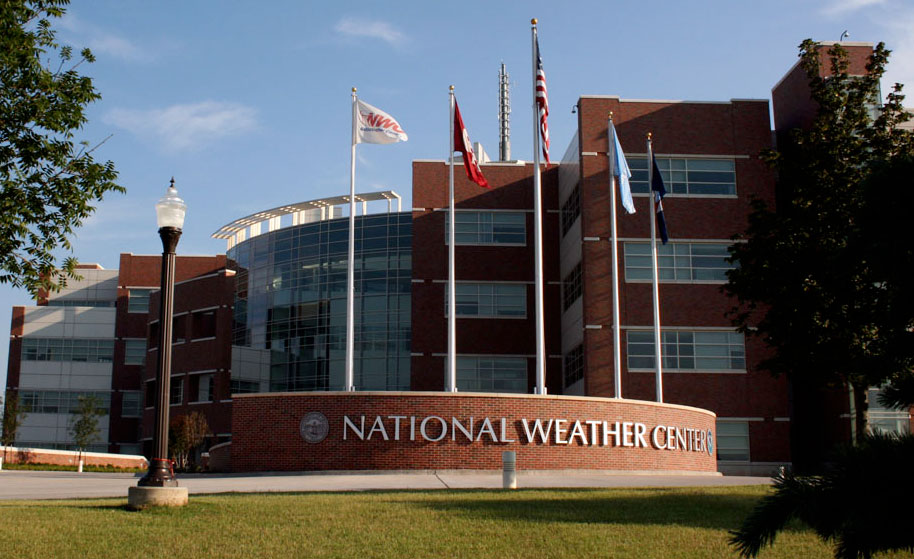Conference - The National Weather Center (Norman, OK): The National Weather Center houses a unique confederation of The University of Oklahoma, National Oceanic and Atmospheric Administration, and state organizations that work together in partnership to improve understanding of events occurring in Earth's atmosphere over a wide range of time and space scales.