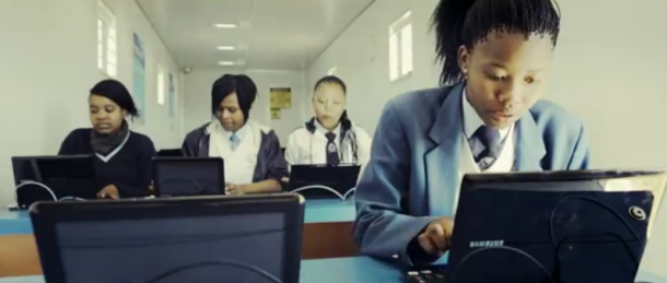 Example 1: Samsung solar powered internet classroom