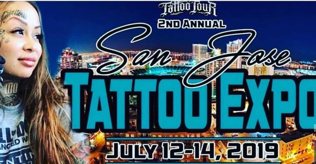 July 21st-14th, 2019 10am-11pm - We Will Be Vending At The Tattoo Expo Once Again. This Time We Are Coming With A New Shirt Design That Will 1st Be Sold At This Event Before We Release It Online. So Stop By Our Booth & Grab Yourself One Before They Sell Out. Stay Creative!