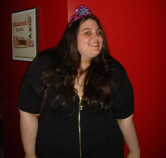 Me on my 21st birthday, crown and all!