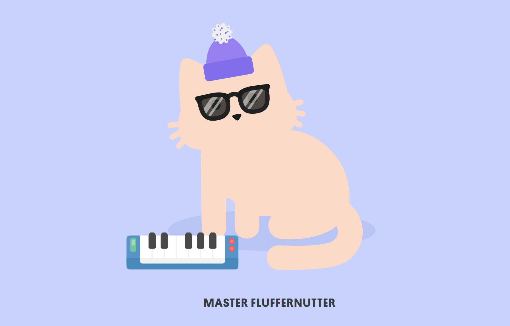 Don't you wish your tabby was hipster like me?