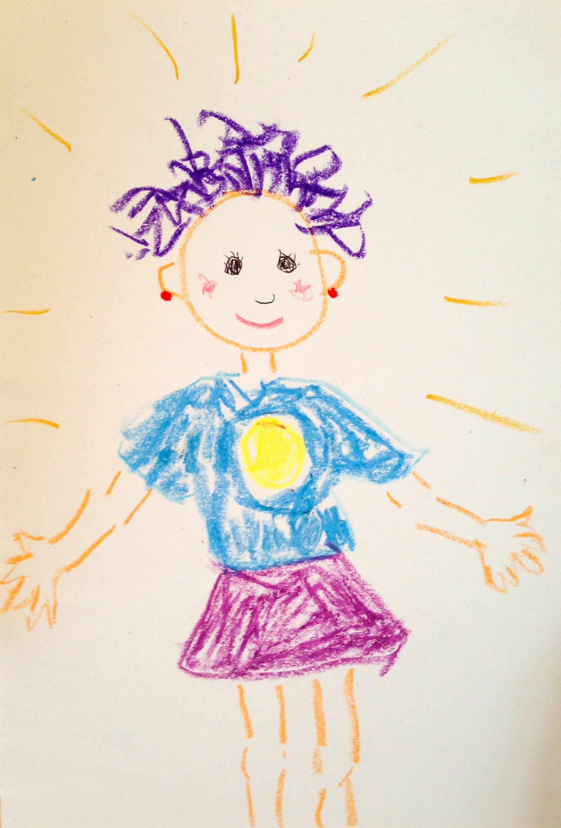 (gemalt von einem inneren Kind)