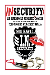 IN-Security: An Alarmingly Romantic Comedyby Todd McGinnis &T. Gregory Argall - Nothing goes as planned for Linda, a small-town girl when she moves to the big city. She arrives for her first day of work at a Security Response Company only to learn that her job position might have been cut thanks to a corporate takeover by a policy-obsessed conglomerate! Fortunately, she finds an unlikely knight in shining armour in Ted, a charmingly wise-cracking and mischievous co-worker. But when life with her dreamy musician-boyfriend turns out to be not quite so dreamy after all and Ted offers Linda a place to stay... both of their lives become suddenly more complicated.Cast size: 2f, 4mAvailable from Lulu.com