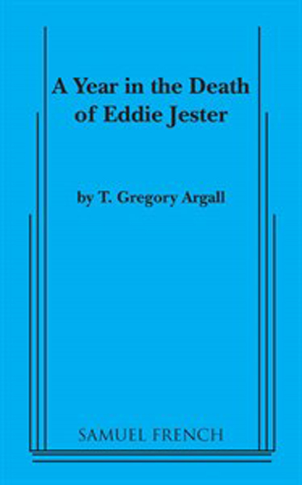 A YEAR IN THE DEATH OF EDDIE JESTERBY T. GREGORY ARGALL - Winner of the 2002 Samuel French Canadian Playwrights Contest.Stand up comic Eddie Jester has been mugged and is comatose. His disembodied spirit offers up jokes and commentary on the events transpiring in his hospital room, including the simultaneous visit to his bedside of his wife and his girlfriend and some nonmedical doctor/nurse activities. Eddie's semi-posthumous examination of life, love and human relationships provides funny and poignant insights while the duplicity of his agent, revelations about his father and the births of two children demonstrate to Eddie that sometimes even your own life carries on without you.Cast size: 4m, 3fAvailable from Samuel French Inc.