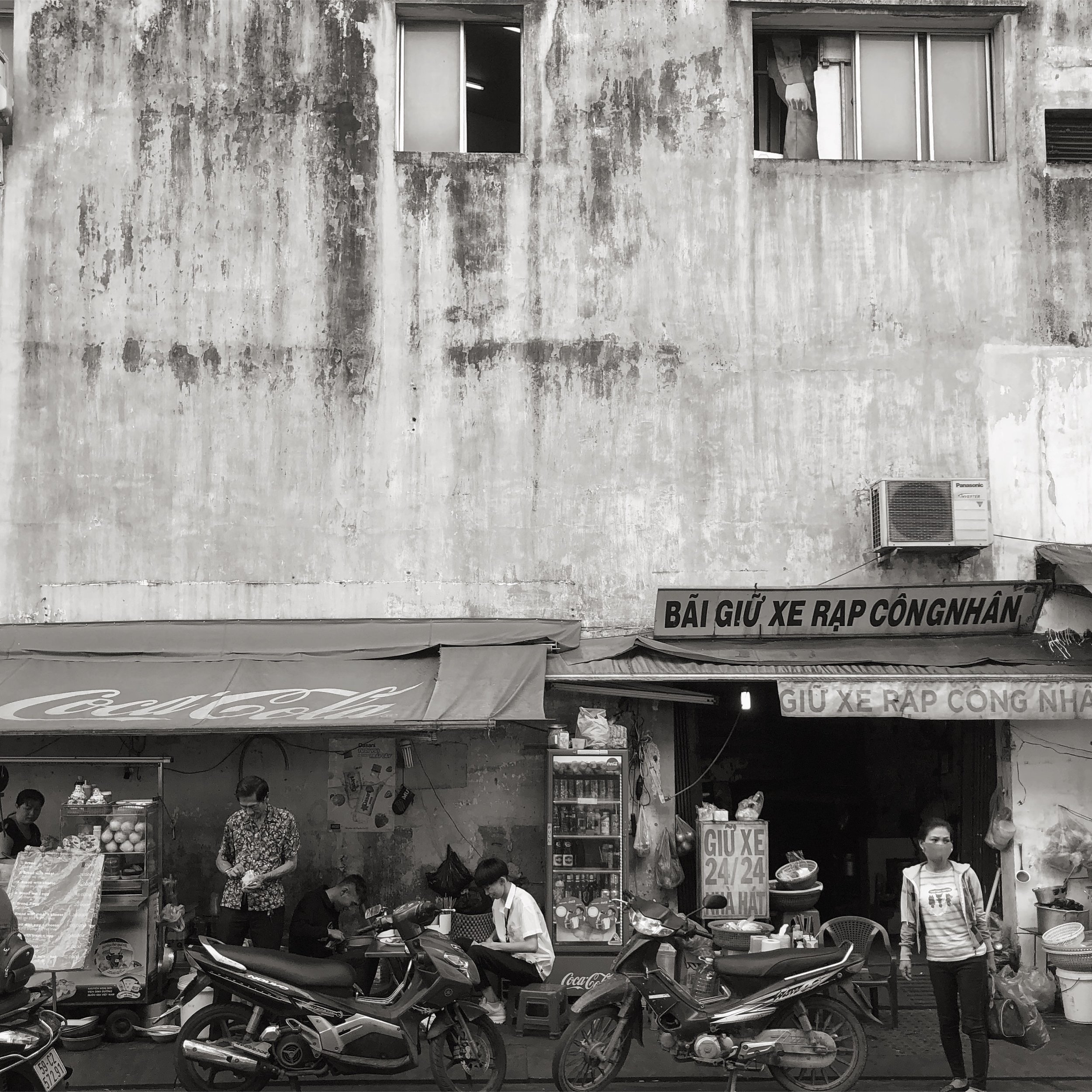 A scene from Ho Chi Minh City. One of the last I plan on taking with my iPhone.