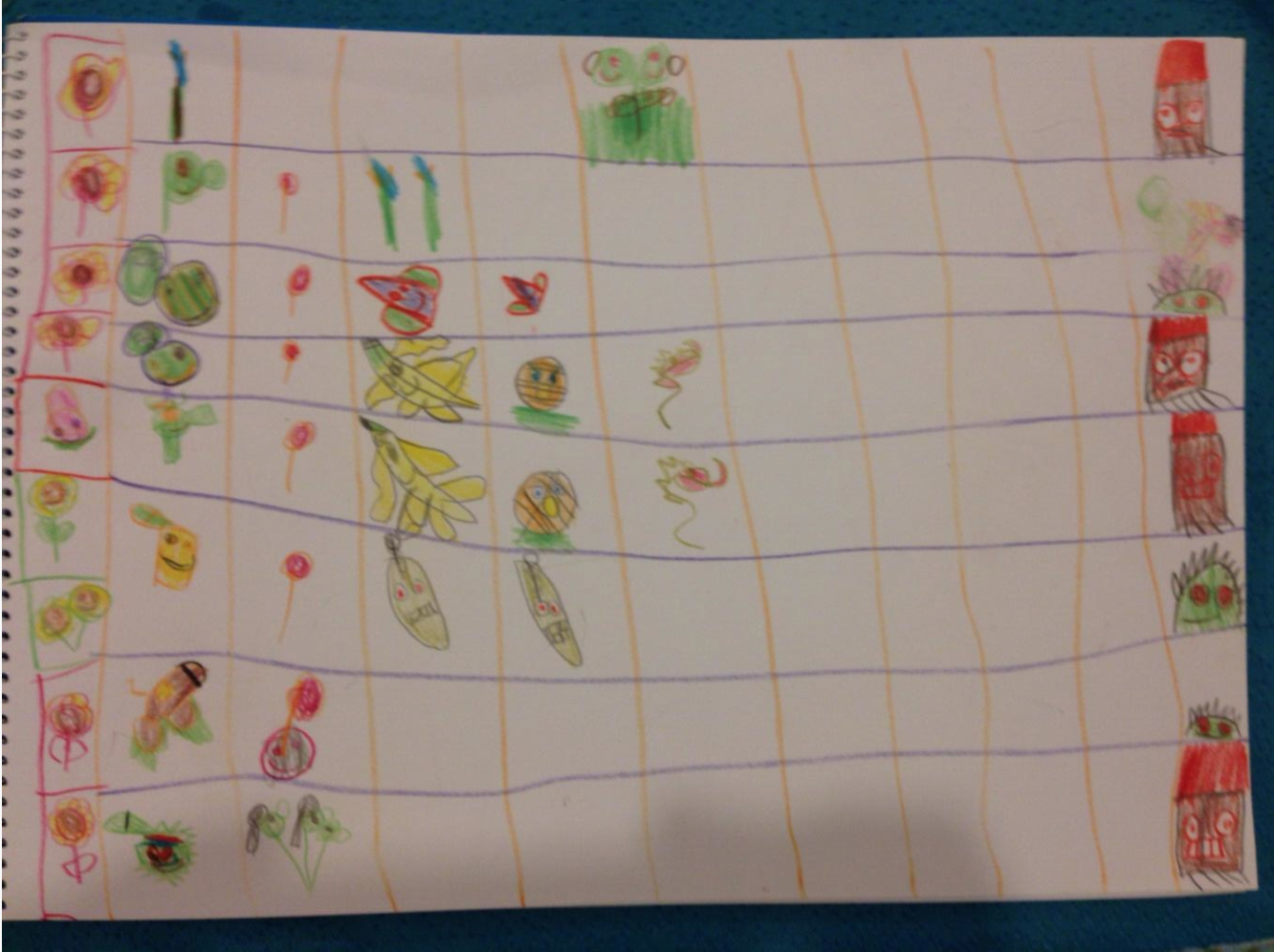 """my son has limited screen time so he plays @PlantsvsZombies on paper"" says Boian Tzonev in an insightful t weet ."